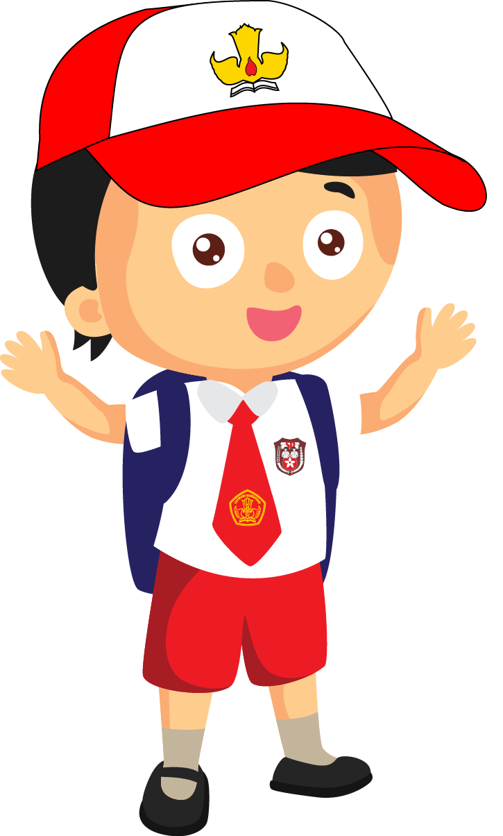 Animasi Anak Sd Png : animasi, Gambar, Kartun