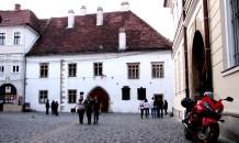 Romania Fotoblog Cluj Pedestrian Area Casa Corvin
