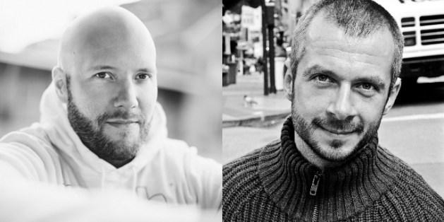 Grundarna av Crop100, Fredrik Wass och Michael Kazarnowicz