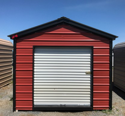 10x12 Boxed Eave Utility Shed.