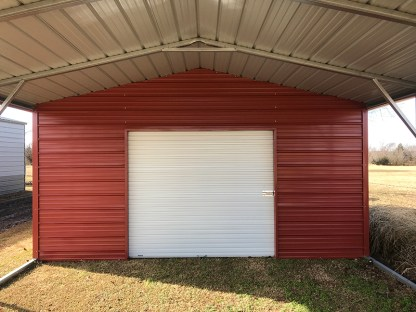 18' wide x 31' long A-Frame Combo Style Carport