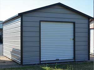 10x16 Boxed Eave Utility Shed