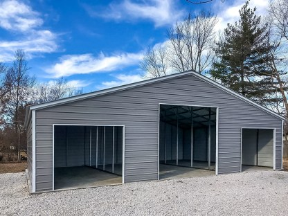 42 x 30 Agricultural Barn with Vertical Roof