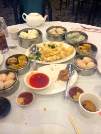 Dim sum in China town.