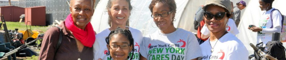 New York Cares Clean-up
