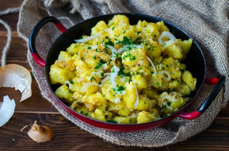 Rezept vegane Eierspätzle