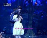 Foto Mesra Aliando dan Prilly GGS LIVE SCTV-7