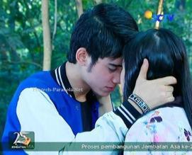 Ciuman Aliando dan Prilly GGS Episode 459
