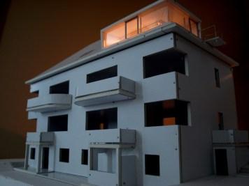 Pracovný model/Podkrovie bytového domu, Ružomberok-Malé Tatry/bistan.sk