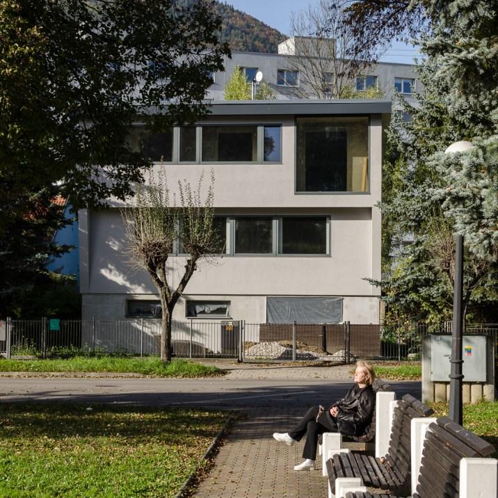 Family house reconstruction, Ružomberok - city center /bistan.sk
