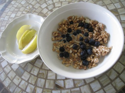 I started my day with Kashi Go Lean Crunch!