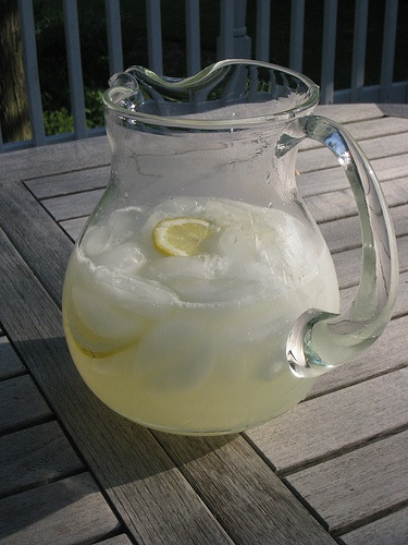 Fresh cistron presse (lemonade) - sweet!