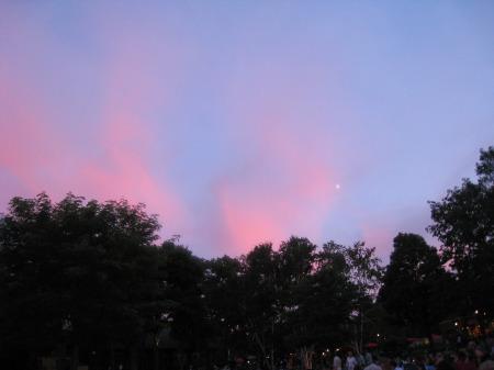 Blue-Pink Sky