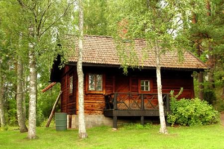 A typical finnish sauna...