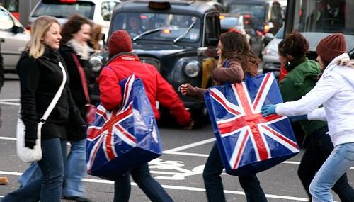 British Women: Power Shoppers
