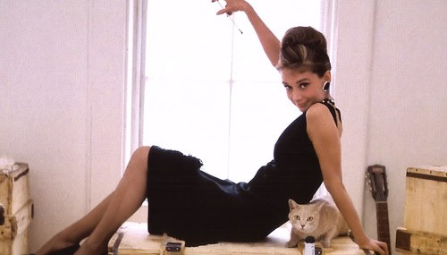 Audrey Hepburn's Little Black Dress Tops Fashion List