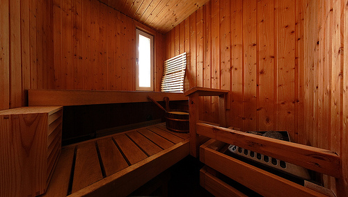 Hot and Steamy in a Finnish Sauna