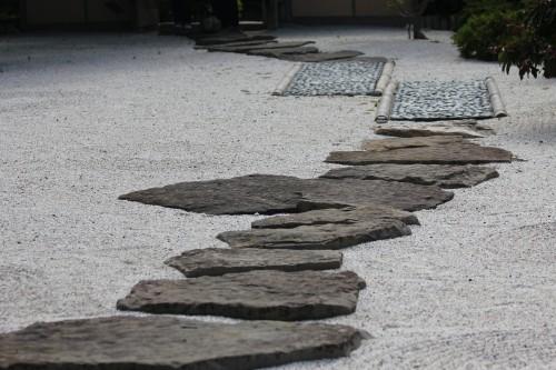 Botanic Garden Rock Path