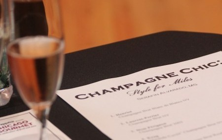 Champagne, More Versatile Than Wine?