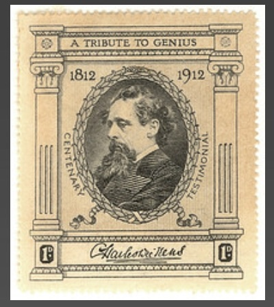 Charles Dickens stamp