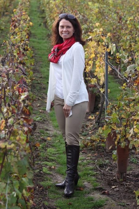 Jennifer at Mercier in Epernay