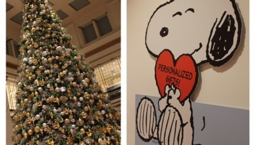 Holiday Memories with Macy's and Charlie Brown