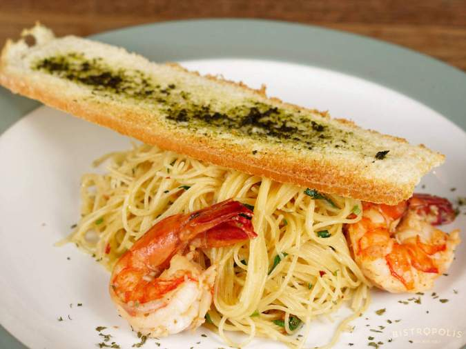 Shrimp Scampi Angel Hair