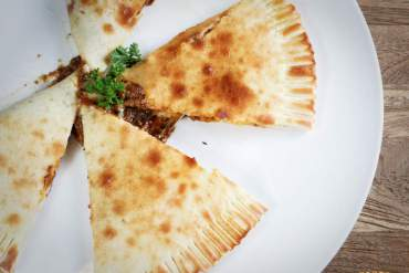 Spicy Beef Calzone