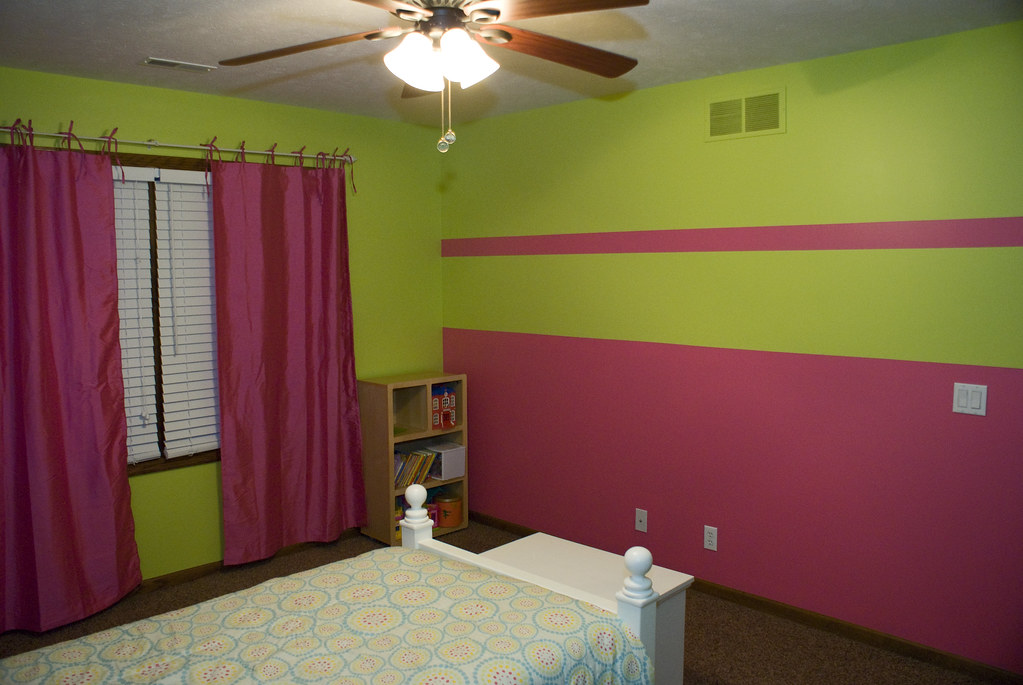Pink And Green Girls Bedroom Pink And Green
