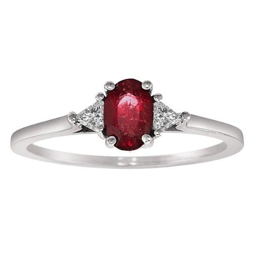 Modern Ruby Ring ANTIQUE BLUE TOPAZ RINGS Bloghr