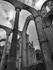 Fountains Abbey, Nine Altars, east window