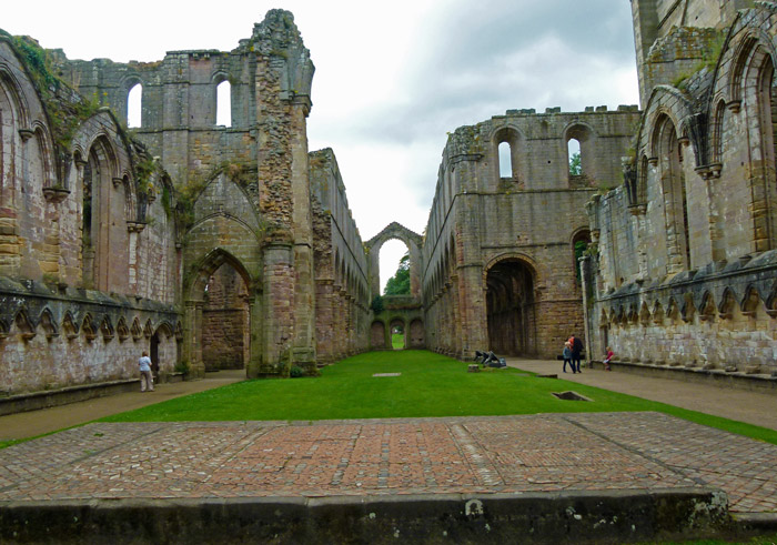 Fountains Abbey, abbey church