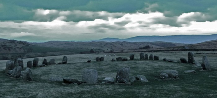 Swinside, stone circle, Cumbria