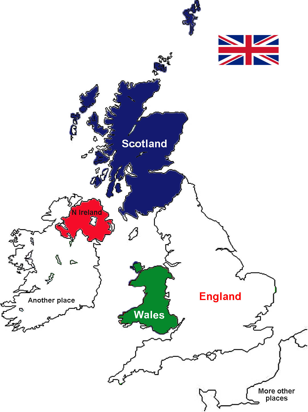 What does britain mean a bit about britain united kingdom great britain england wales scotland northern ireland map ccuart Image collections
