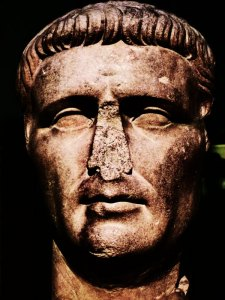 Claudius, bust, British Museum, Romans