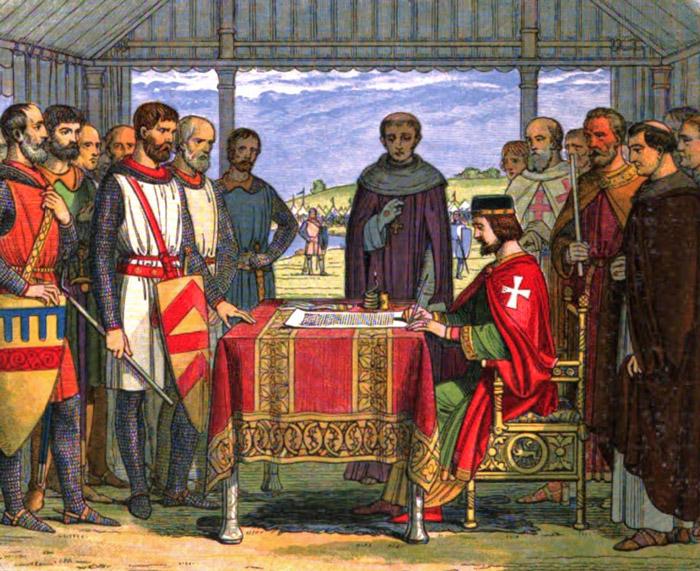 King John, seal, Magna Carta
