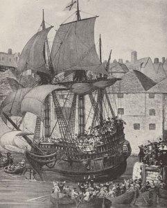 Mayflower, Pilgrim Fathers, Plymouth, New World