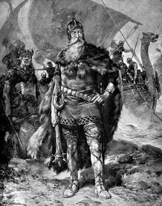 Viking, chieften, Rorik, Koekkoek, Vikings