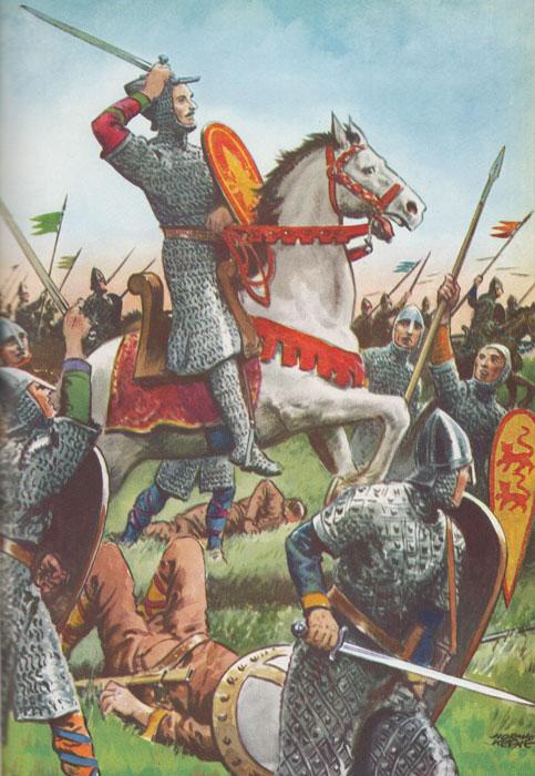 William the Conqueror, Hastings, Normans, Saxons