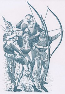 English, Welsh, archers, longbows, Hundred Years War
