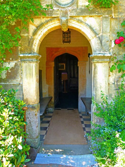 Bateman's, Kipling, front door