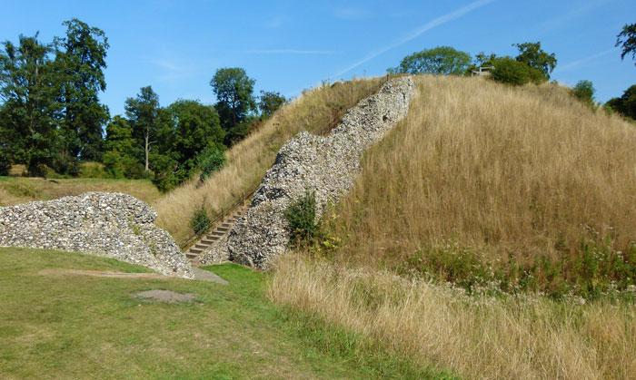 Berkhamsted, castle, motte, Hertfordshire