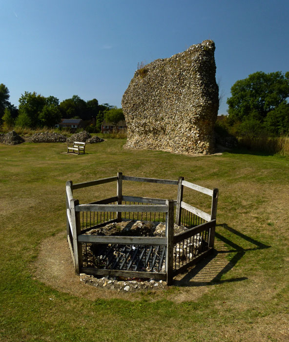 Well, Berkhamsted Castle