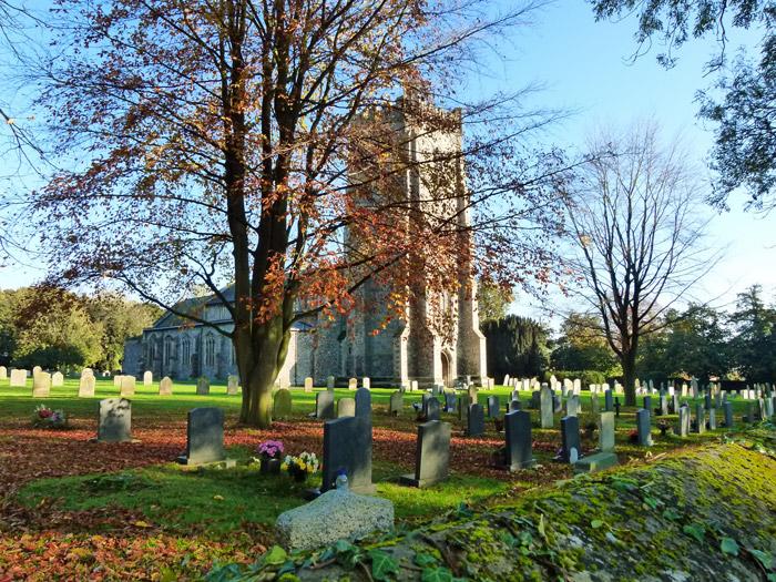 Church, Castle Acre, St James, Norfolk