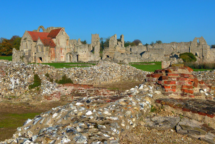 Castle Acre, priory, Norfolk