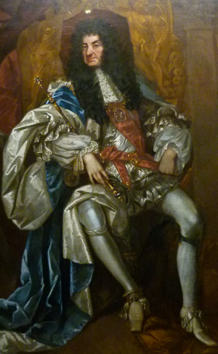 King Charles II - 'the Merry Monarch'