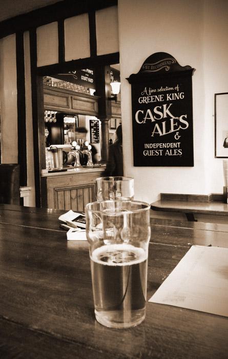 Greene King, Abbot, George, London pubs