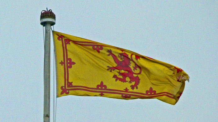 Royal Banner of Scotland, Scottish independence