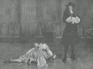 Monmouth pleads for his life.