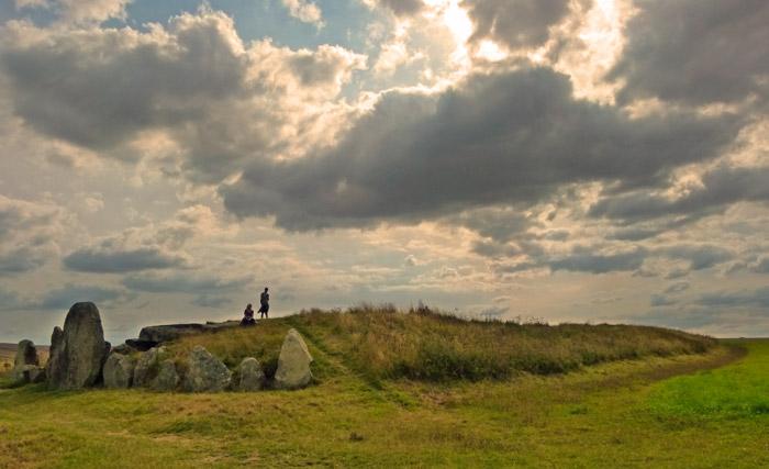 West Kennet, Long Barrow, Avebury, Wiltshire